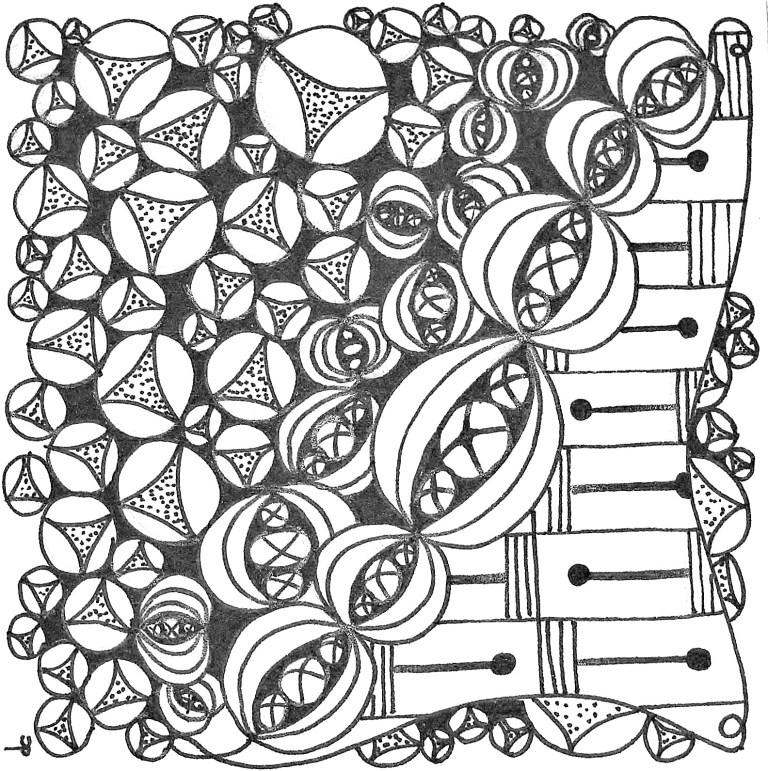 Zentangle #16