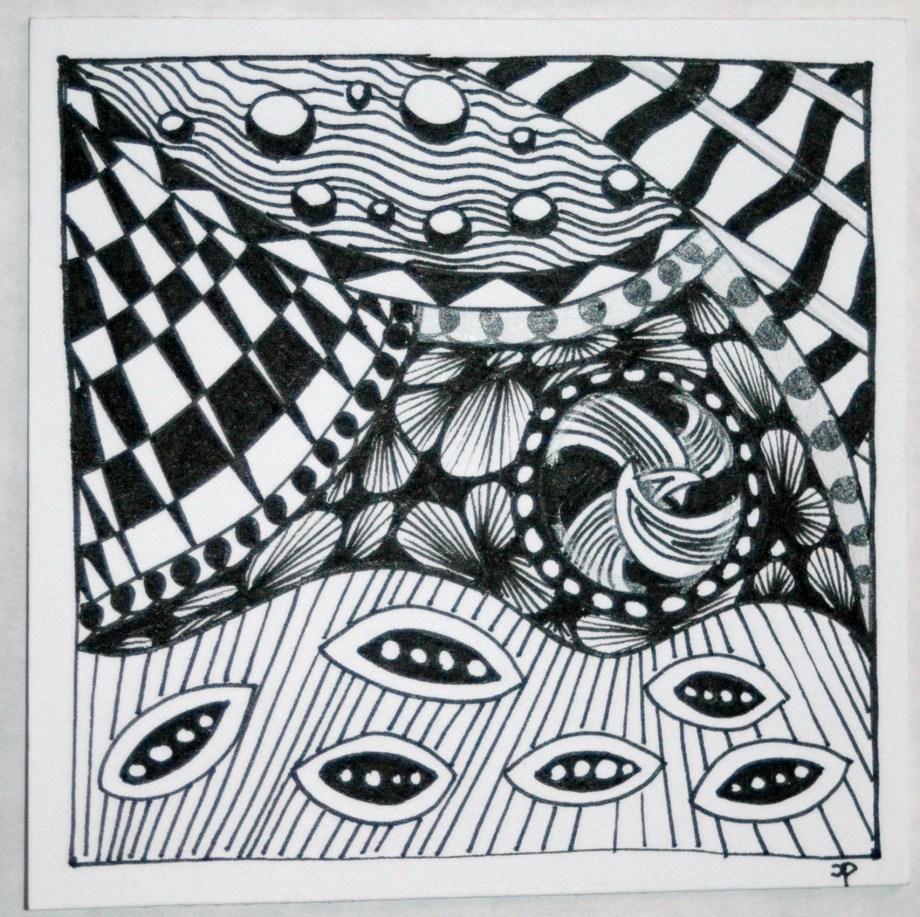 Zentangle #6
