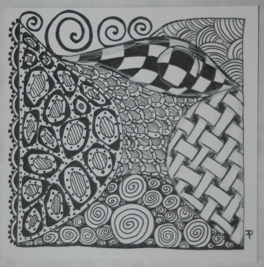 Zentangle # 12