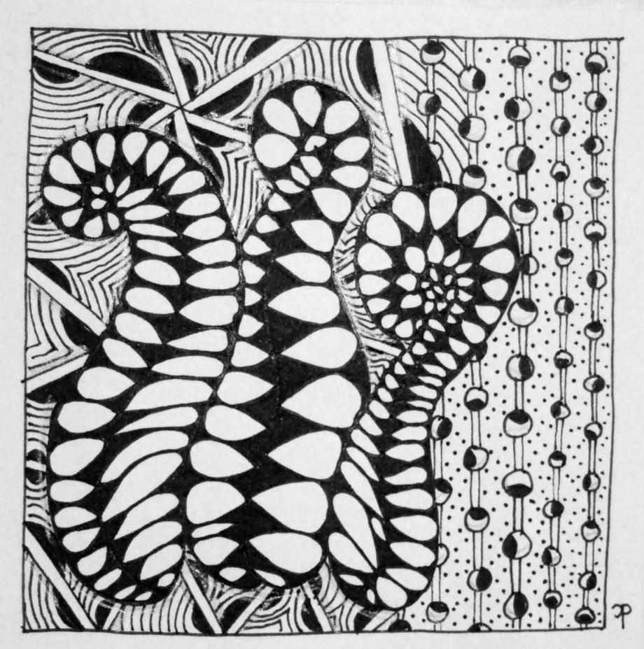 Zentangle #7