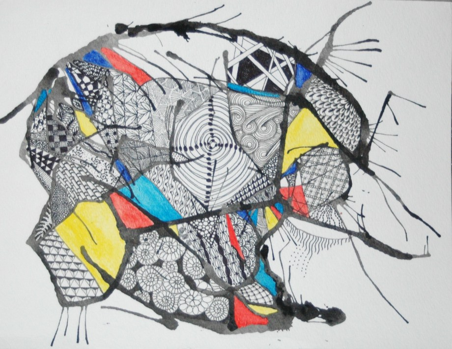 Work in Progress- Abstract Tangle