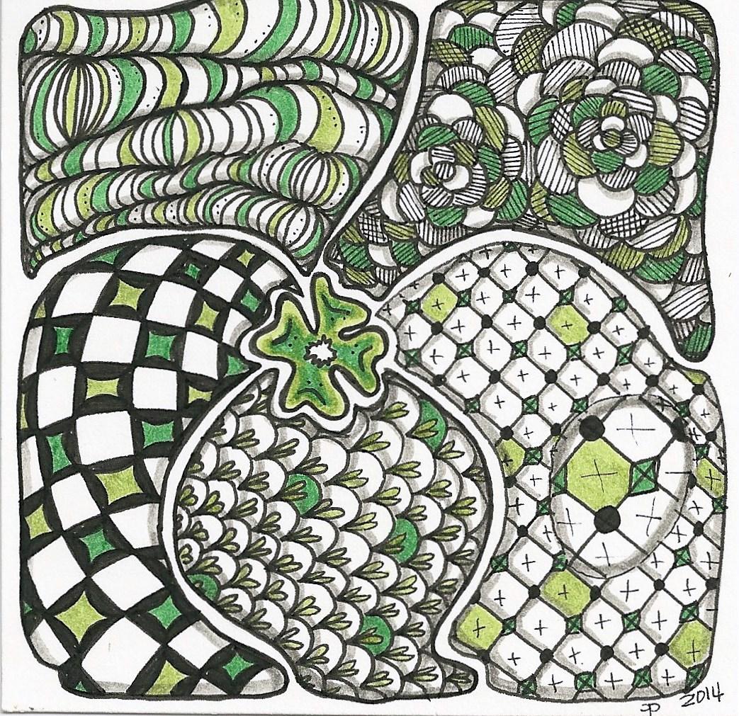 Irish Inspired tangle