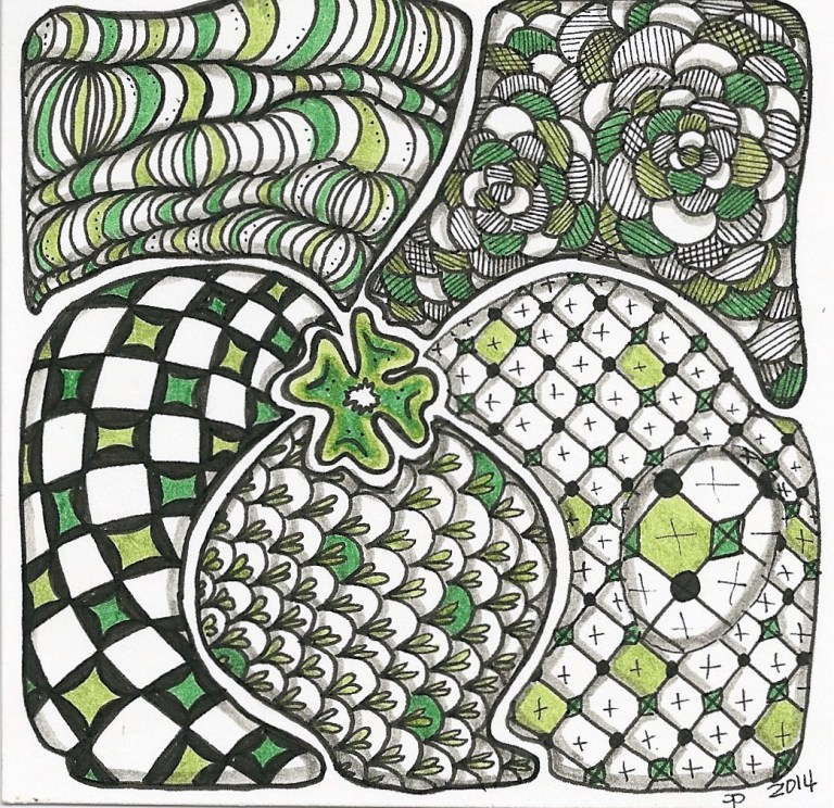Irish Inspired tangle