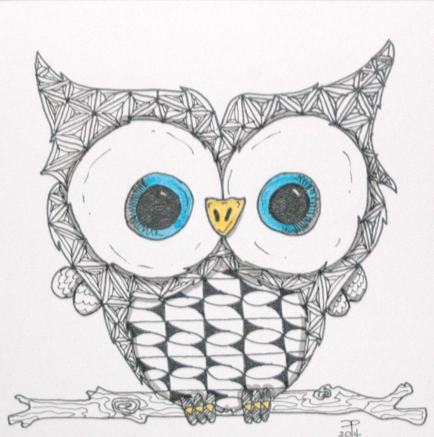 Owl themed ArtistTile