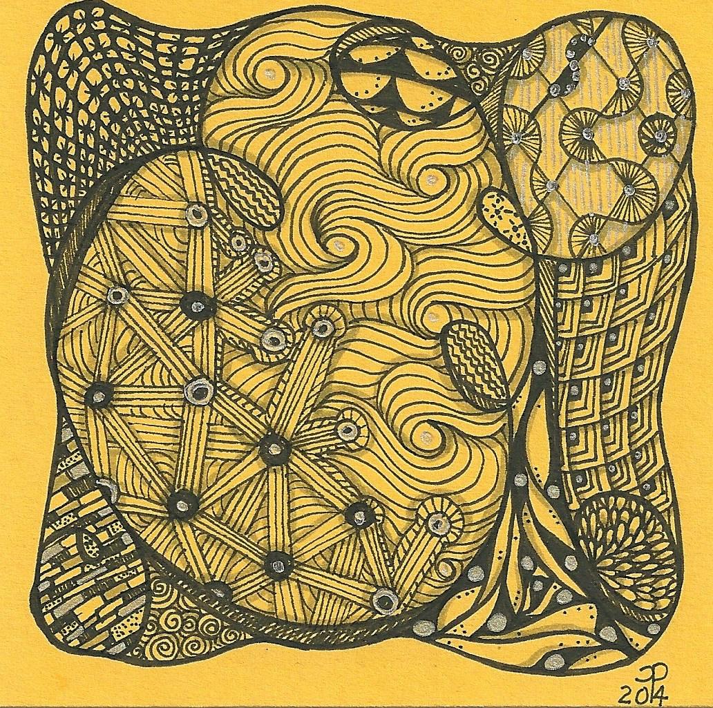 Zen-inspired Initials