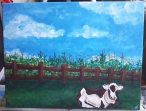 amy's finished cow